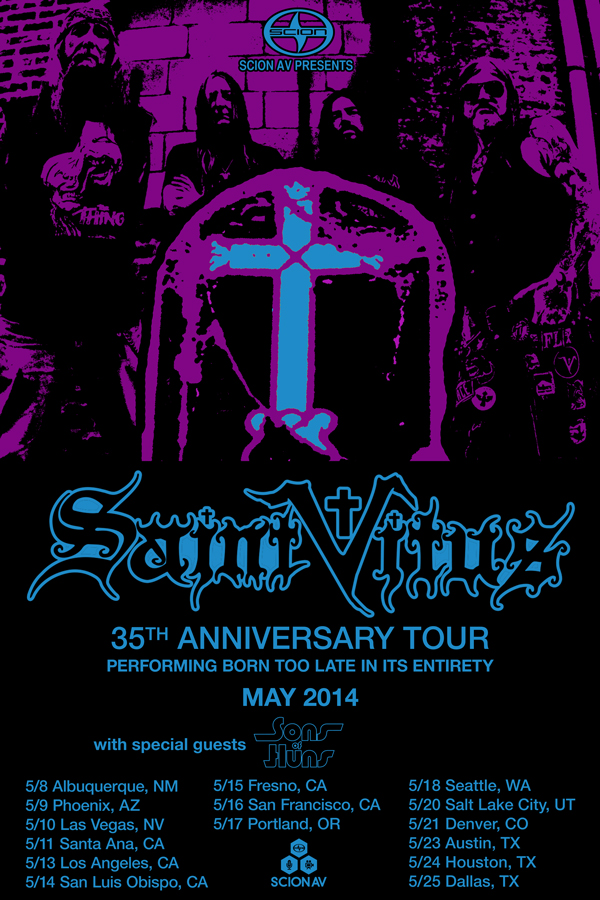 Saint Vitus Tour