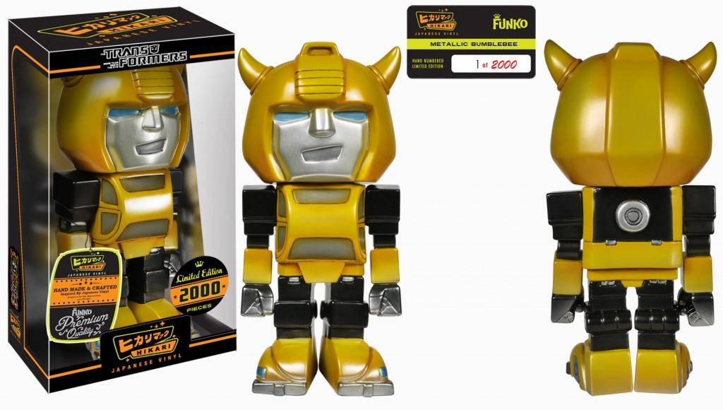 Hikari Sofubi TRANSFORMERS Bumblebee Metallic