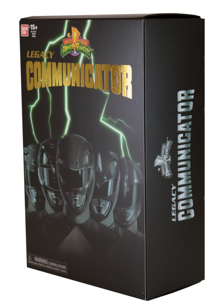 Mighty Morphin Power Rangers – Legacy Communicator (In Package)